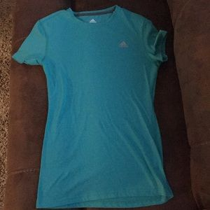 Turquoise Adidas ClimaLite Women's Size Small